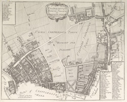 SHOREDITCH NORTON FOLGATE, and CREPPLEGATE WITHOUT (1720)